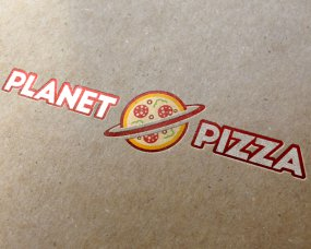 Planet Pizza – Logo ontwerp