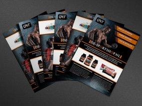 De-Sportshop.nl – Flyer ontwerp