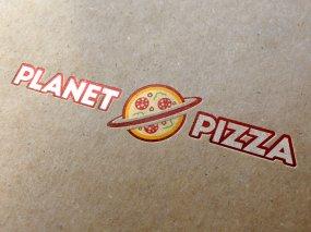 Planet Pizza – Logo ontwerp