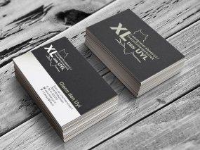 XL den Uyl – Logo en visitekaartje