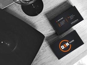 D3K Trading – Visitekaartje ontwerp