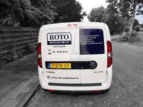 ROTO Onderhoud – Auto bestickering
