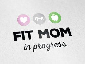 Fit Mom in Progress – Logo ontwerp