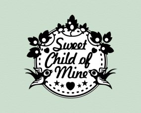 Sweet Child of Mine – Logo ontwerp
