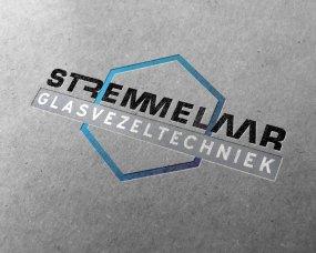 Stremmelaar Glasvezeltechniek – Logo ontwerp