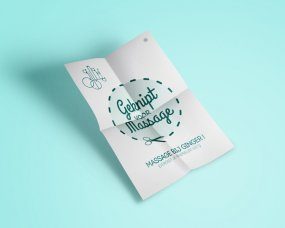 Lots Massage & Yoga – Flyer ontwerp