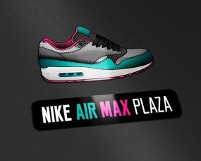 Nike Air Max Plaza – Logo ontwerp