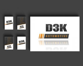 D3K Automotive – Logo en visitekaartje