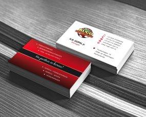 Rugo Amusementsautomaten – Logo, visitekaartje en stickers