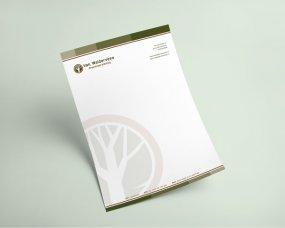 Van Walderveen Groenvoorziening – Logo en briefpapier