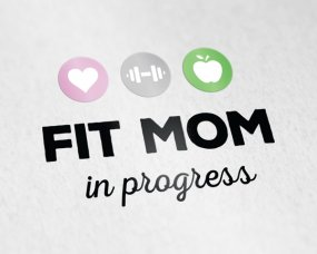 Fit Mom in Progress – Logo ontwerp