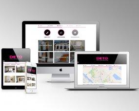 DETO Schilderwerken – Logo, huisstijl & website